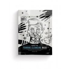 BARBER PRO FOAMING CLEANSING MASK Cleansing Mask with Activated Charcoal