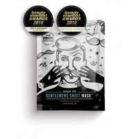 BARBER PRO GENTLEMENS SHEET MASK Rejuvenating & Hydrating with Anti-Ageing Collagen