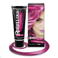 Rebellious hair dye Flamingo Pink