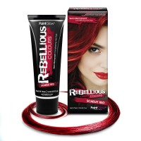 Rebellious hair dye Scarlet Red
