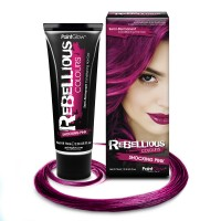 Rebellious hair dye Shocking Pink