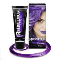 Rebellious hair dye Ultra Violet