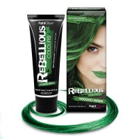Rebellious hair dye Voodoo Green